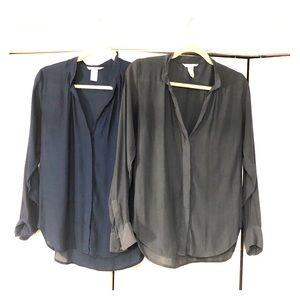 H&M Long-sleeved Blouses (2)